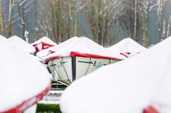 Winterlager für Ihre Schiff - Ottenhome Heeg