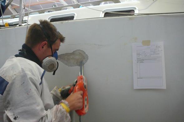 GFK Reparatur Motorboote und segelboote - Ottenhome Heeg